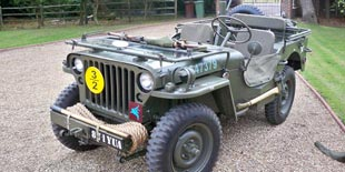 Ford GPW Jeep 1942 British Airborne