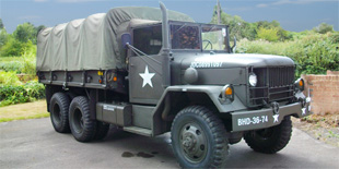 Reo M35 2½ Ton Cargo Truck Military Vehicle For Hire