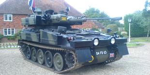 CVRT Sabre/Scimitar Military Vehicle For Hire